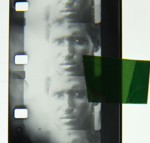 A 16mm still image from 21C/19C _ Chapter01_ Strong Looks _ original image received from Wereldculturen.NL_TM-60027140